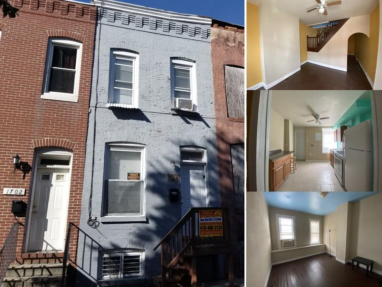 1704 N Regester St.  Baltimore, MD 21213