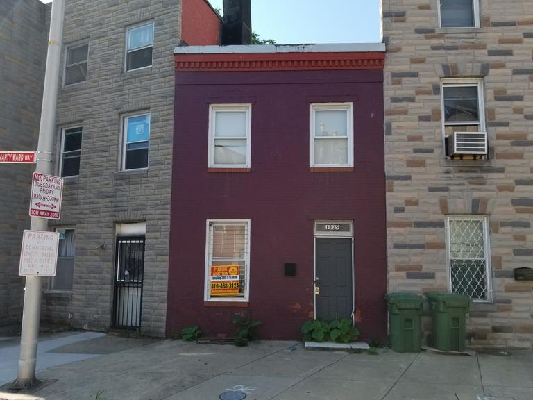 1835 Frederick Ave. Baltimore, MD 21223